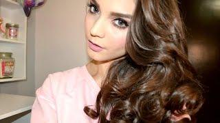 Maquillaje Dramatico Para SAN VALENTIN!! + Ondas Con La Plancha - Evelyn Mar