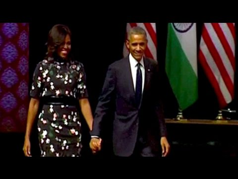 US President Barack Obama's full speech at a Delhi townhall