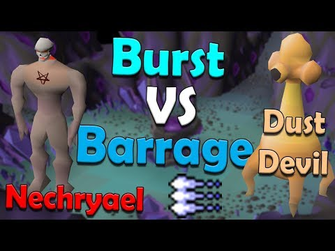 Should You Use Ice Burst Or Ice Barrage? [Old School Runescape Comparison]