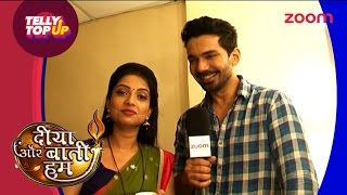 Diya Aur Baati Hum | Off Screen Masti With Om And Emily | #TellyTopUp