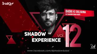 Shadow Experience Vol 12 | DJ Shadow Dubai | Nonstop Mixtape
