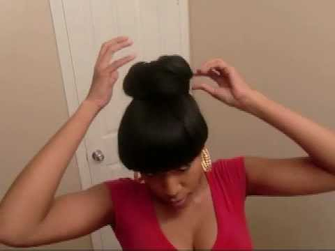 How to Make a Bun With a Weave Ponytail