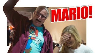 😱 THE VOICE OF MARIO!!