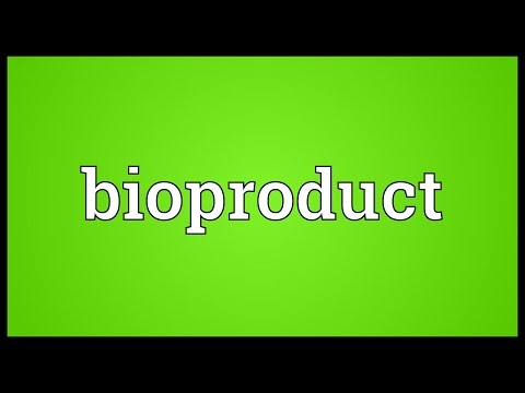 Header of Bioproduct