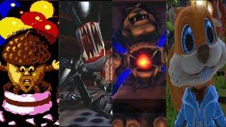 Evolution of Final Bosses in Conker Games