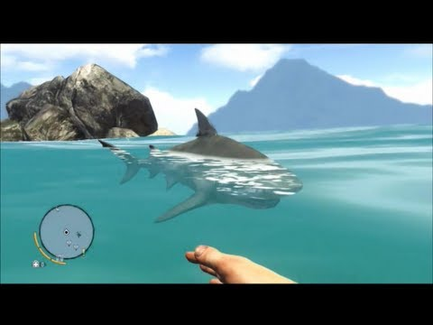 Far Cry 3 Funny Moments 5 Funny Shark Attack