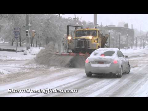 03/12/2014 Syracuse, NY Blizzard Footage