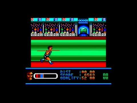 [AMSTRAD CPC] Daley Thompson's Olympic Challenge - Longplay & Review