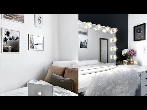 BEDROOM TOUR & MY EXTREME BEDROOM MAKEOVER! | Maria Bethany