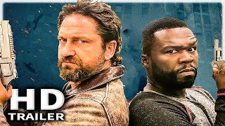 DEN OF THIEVES: Official Trailer (2018) Gerard Butler, 50 Cent Action Movie HD