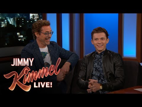 Robert Downey Jr. & Tom Holland on Spider-Man: Homecoming thumbnail