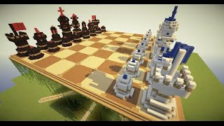 Minecraft: how to make a chess table