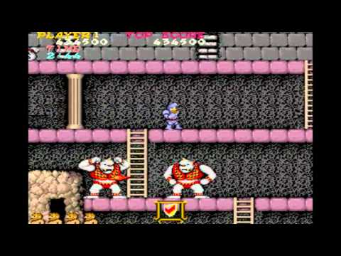 Ghosts N Goblins / Makaimura - MAME32 - Walkthrough