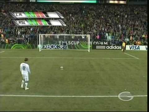 Real Salt Lake vs Los Angeles Galaxy MLS Cup 2009 pks.wmv Video