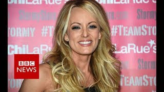 Stormy Daniels given key to the city of West Hollywood - BBC News
