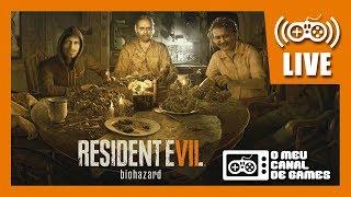 LIVE DE ANIVERSÁRIO DE 18 ANOS... FINALMENTE!!! Resident Evil 7 JOGO COMPLETO