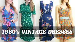 1960's Vintage Dresses Womens Clothing Fashion by The Hooting Owl Vintage Company
