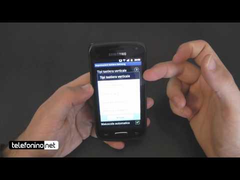 Samsung Galaxy W videoreview da Telefonino.net