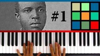 "How To Play ""The Entertainer - Part 1"" Piano Tutorial / Sheet Music (Scott Joplin)"