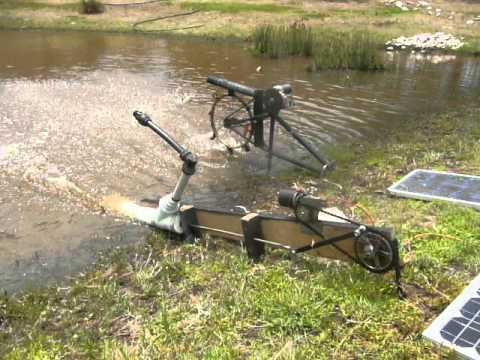 Diy Solar Powered Water Pump And Airator Recycled