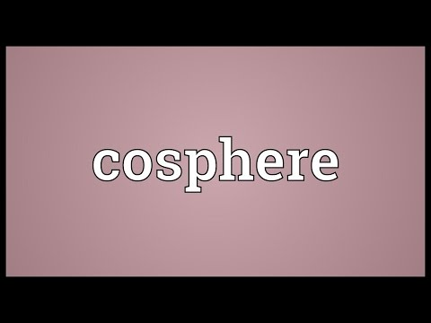 Header of Cosphere