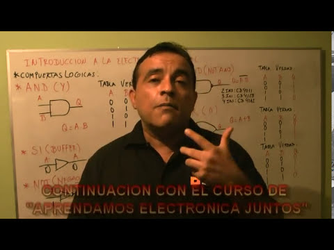 Introduccion a la Electronica Digital   Teoria   Compuertas Logicas   Parte3 Final
