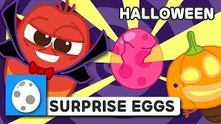 NEW! SURPRISE EGGS - HALLOWEEN | LARVA KIDS | EGG SONG | SUPER BEST SONGS FOR KIDS