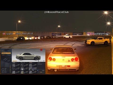Gran Turismo 6 | 1400HP Turbo/Nitrous R34 Skyline GT-R Build + High HP Meet