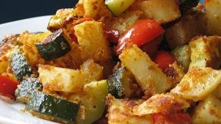 Easy Zucchini and Potato Bake Recipe