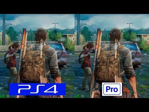 The Last of Us | PS4 VS PS4 PRO | GRAPHICS COMPARISON | Comparativa