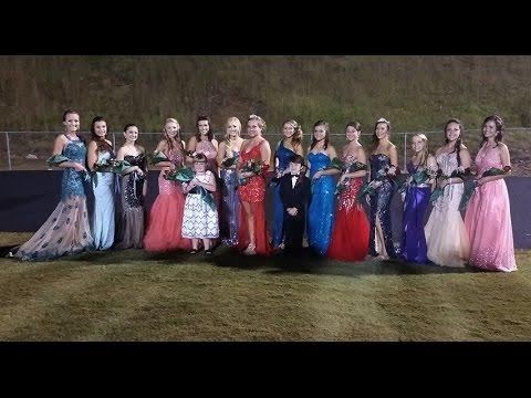 Pickens High School GA Homecoming Crowning 2014