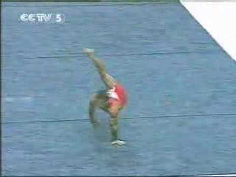 Gymnastics: Jovtchev, Jordan - Floor - Worlds 03 1st Video