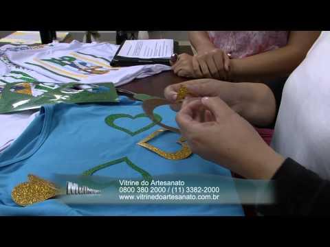 Mulher.com 05/06/2014 - Customização Copa por Valeria Souza - Parte 2
