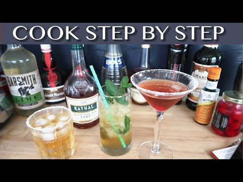 BRANDY THREE WAYS - SUPER TASTY DRINKS - Easy to Make and Delicious - Step by Step Recipe