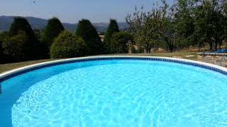 Pool of Tuscan villa centopino - Holiday in Tuscany
