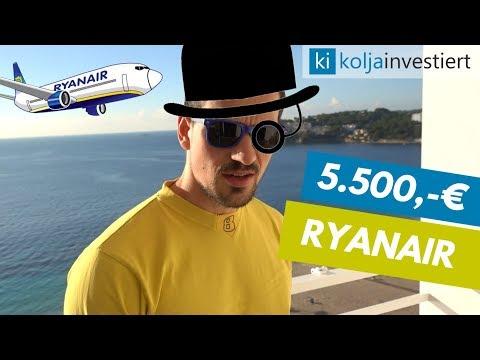 Ryanair Nachkauf für 5.500€ - Danke für die Einstiegskurse ❤️