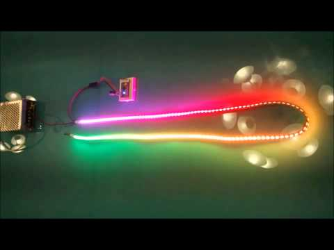 Music controlled LED lights : arduino - redditcom