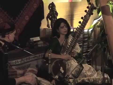 Alif Laila, Sitar, Raag Bhairavi, Feb '12 Concert, With Stream Ohrstrom video
