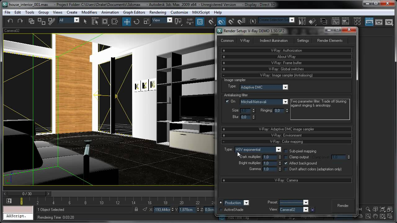 3ds Max Vray Render Settings 3ds Max Vray Tutorial Fast
