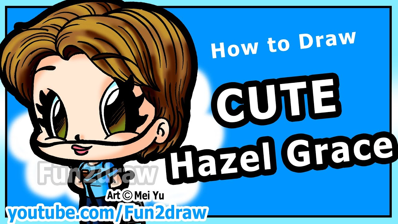 Hazel Grace Drawing How to Draw People Hazel
