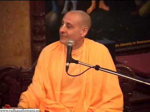 2013-01-20 Srimad Bhagavatam 10.14.61 - Charming Contrasts In Krishna Lila - Radhanath Swami Iskcon video