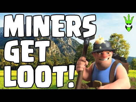 CAN MINERS GET LOOT? - TH10 QW Miner Farming - Clash of Clans - Town Hall 10 Dark Elixir Farming