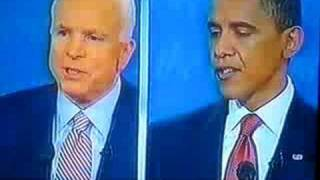 First Presidential Debate 2008 Obama Smashed Mccain By Smith Georges