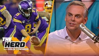 Colin isn't sold on Vikings as contenders, says he isn't giving up on the Eagles | NFL | THE HERD