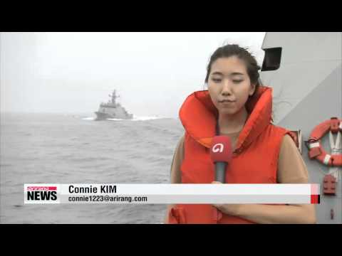Navy holds joint maritime disaster response drill with Korea Coast Guard   해군특수부