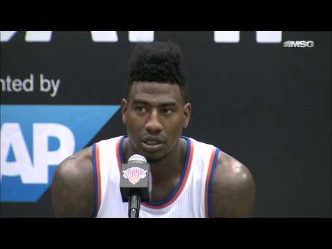 Knicks Media Day 14: Iman Shumpert & J.R. Smith