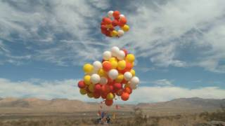Crazy Lawn Chair Balloon Flight!