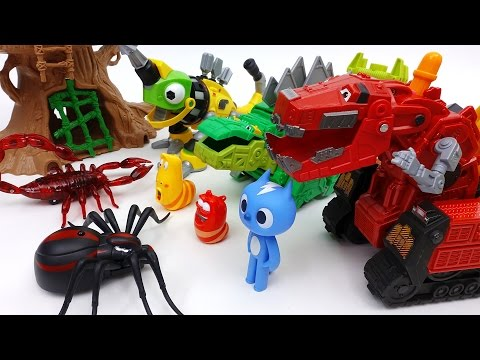 Go Go Dinotrux! Protect Dinosaur Park from Monster Bugs