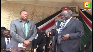 Drama As Wambui Is Denied Access To Kibaki