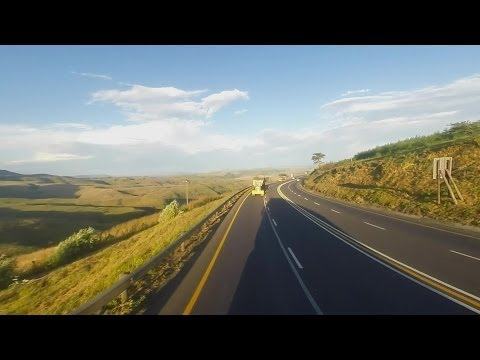 Trucking Thru South Africa . . . Going Down Van Reenen Pass on N3 (Gopro Hero 3+)